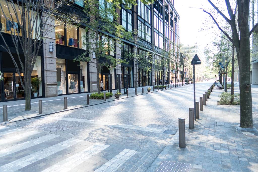 都市計画道路予定地